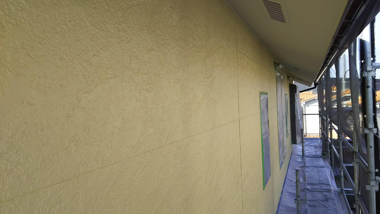 外壁中塗り後