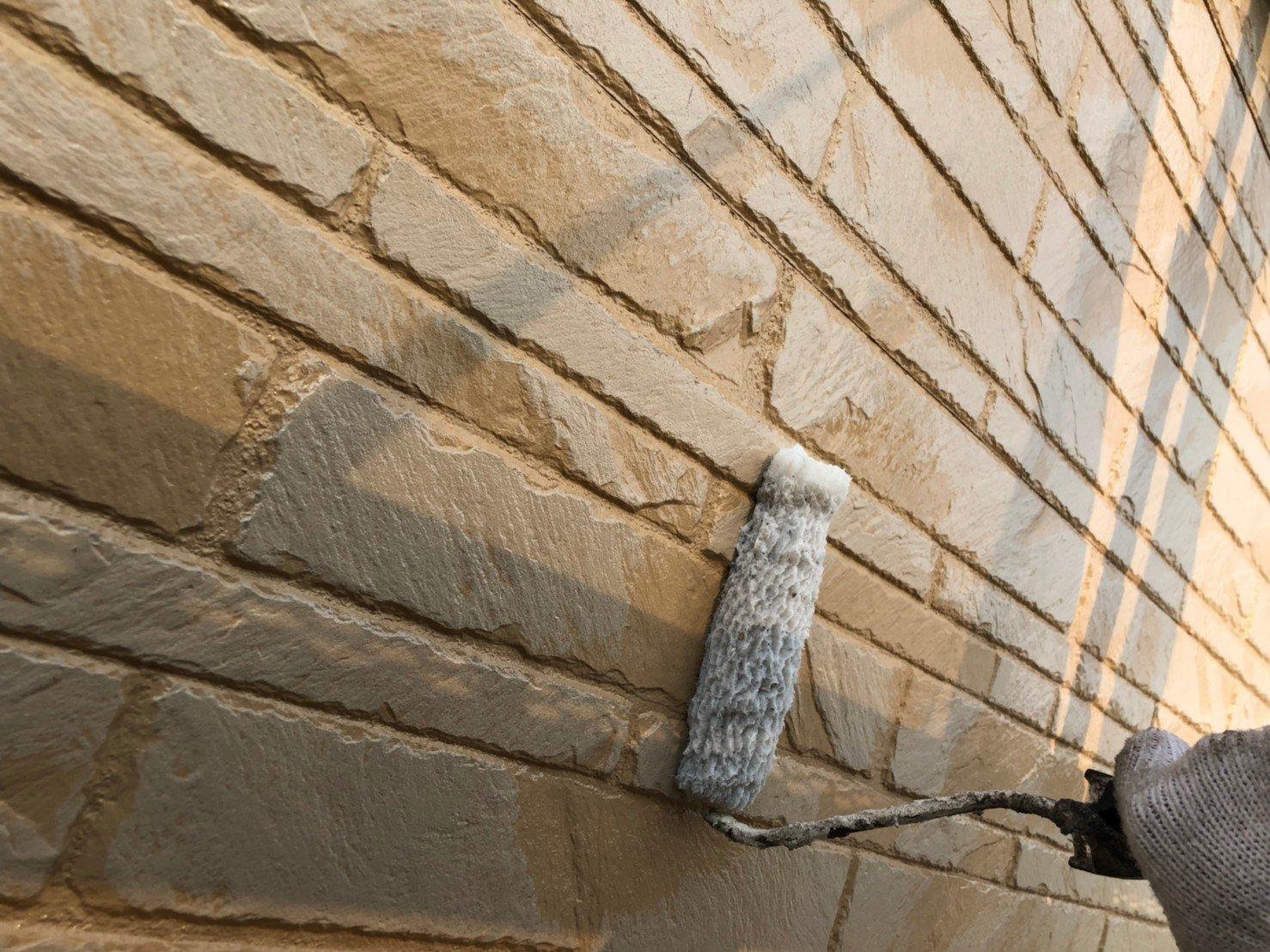 外壁無機クリア塗装