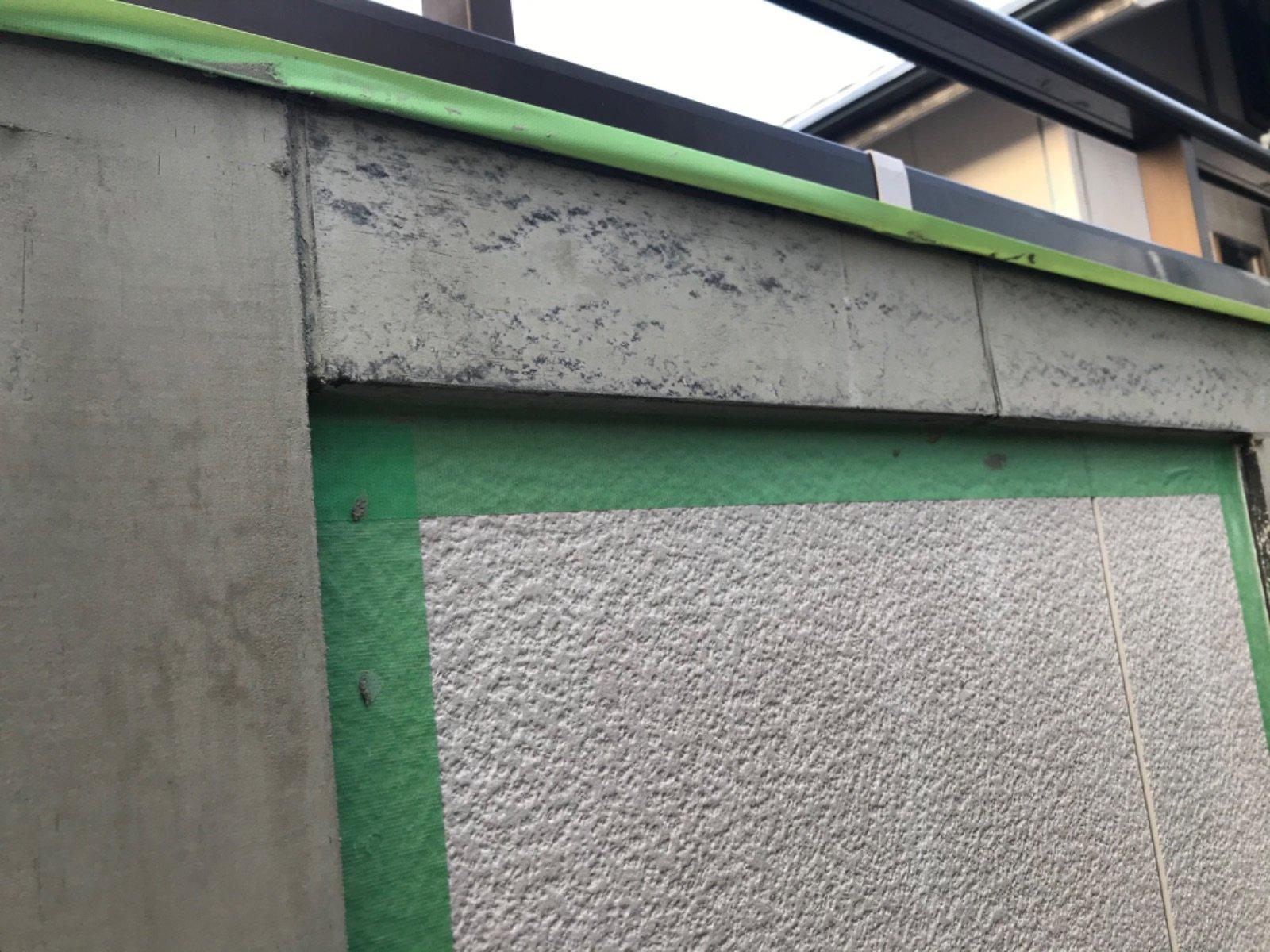 帯板劣化箇所補修